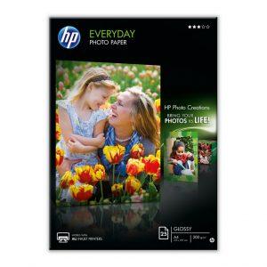 HP Fotopapier A4 Glossy (25 stuks)-0