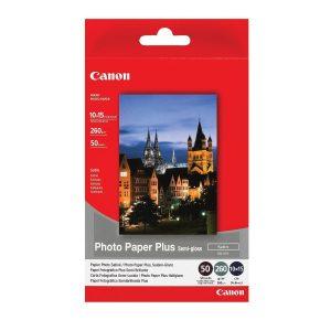 Canon Fotopapier 10x15cm Semi-Glossy (50 stuks)-0