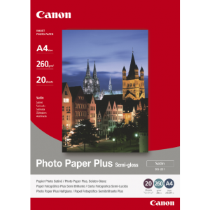 Canon Fotopapier A4 Zijdeglans (20 stuks)-0