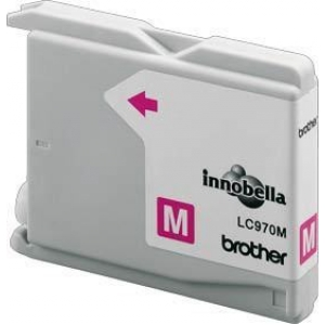 Brother LC970 Magenta Gevuld-0