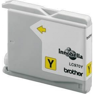 Brother LC970 Yellow Gevuld-0