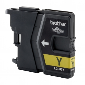 Brother LC985 Yellow Gevuld-0