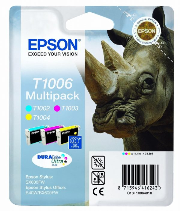 Epson Cartridge T1006 Tri-Color-0