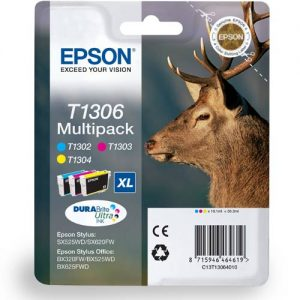 Epson Cartridge T1306 Tri-Color-0