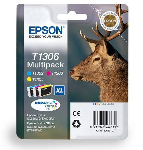 Epson Cartridge T1306 Tri-Color-0