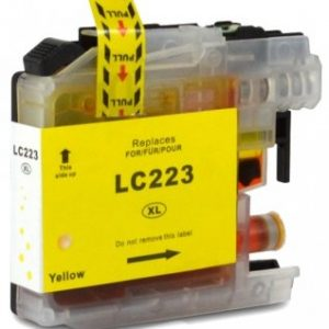 Brother Compatible LC223 Yellow-0