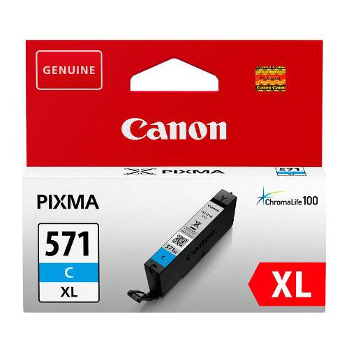 Canon CLI-571XL Cyaan-0