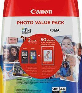 Canon Valuepack 540XL zwart en 541XL kleur-0