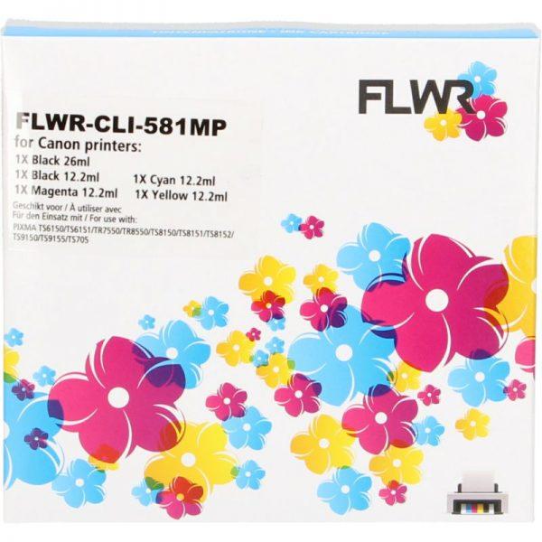 flwr-canon-cli-581xxl-multipack-zwart-en-kleur